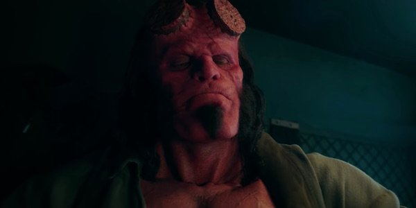 David Harbour as Hellboy in the 2019 film