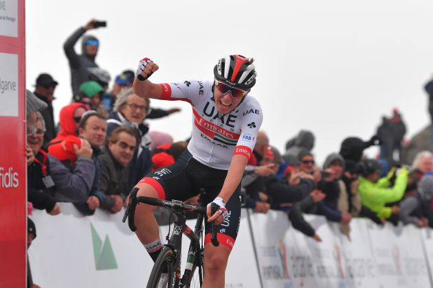 Young star Tadej Pogačar bests world class climbers on stage two of Volta  ao Algarve 2019 7af56529e