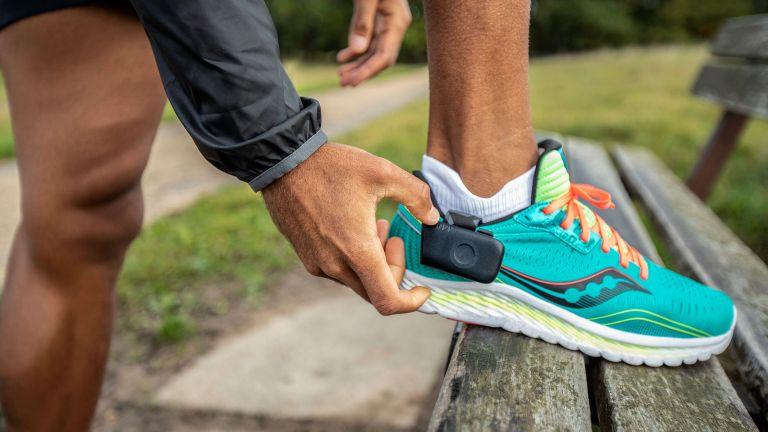 Runner wearing Nurvv Smart Insoles