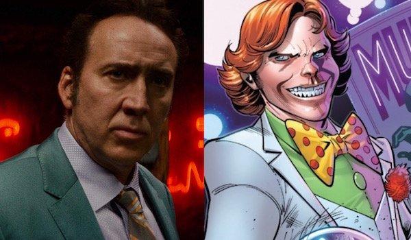 Nicolas Cage and Arcade
