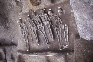 Black Death victims, genome of black death bacteria sequenced