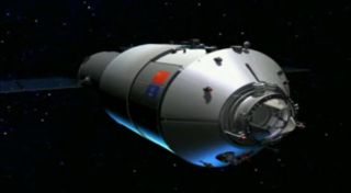 Artist's Impression of Tiangong 1