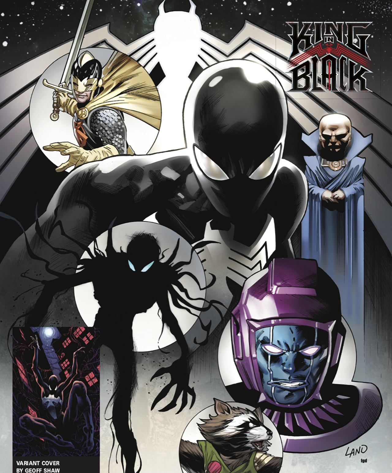 King In Black gets a Symbiote Spider-Man prequel | GamesRadar+