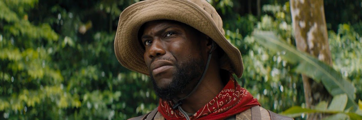 Kevin Hart in Jumanji: Welcome to the Jungle