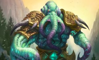 Hearthstone Soggoth The Slitherer art whispers of the old gods