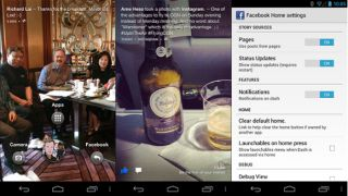 Facebook Home APK leaks