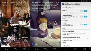 Facebook Home APK leaks