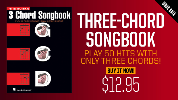 The 3 Chord Songbook Play 50 Hits With Only Three Chords