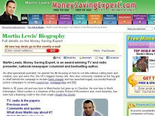 Martin Lewis MSE