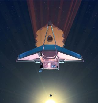 James Webb Space Telescope Illustration