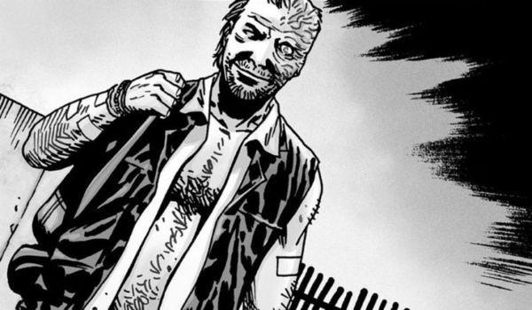 the walking dead comics dwight