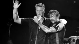 Josh Homme and Jesse Hughes