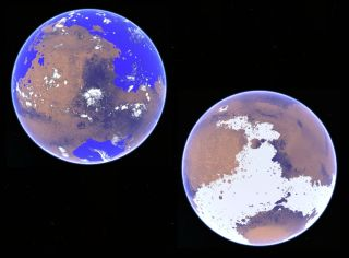 Mars Hot and Wet vs. Cold and Icy