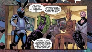 Writer Al Ewing discusses Guardians of the Galaxy #4, and beyond