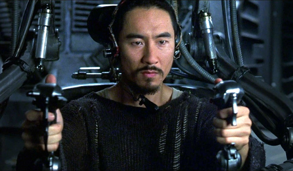 The Matrix Revolutions Ghost in his gunner's seat