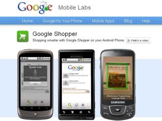 Google Shopper now available from Mobile Labs