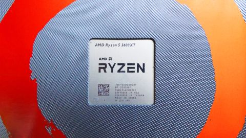 AMD Ryzen 5 3600XT in packaging