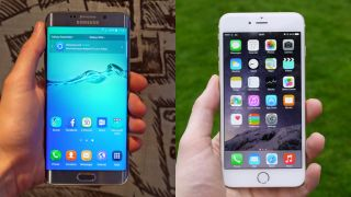 Samsung Galaxy S6+ vs iPhone 6 Plus