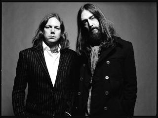 Black Crowes Rich and Chris Robinson