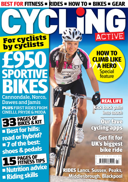 Cycling Active July 2012 cover