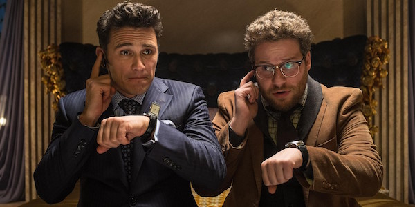 The Interview James Franco and Seth Rogen