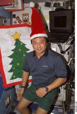ISS Crew Greets Holiday Supply Ship