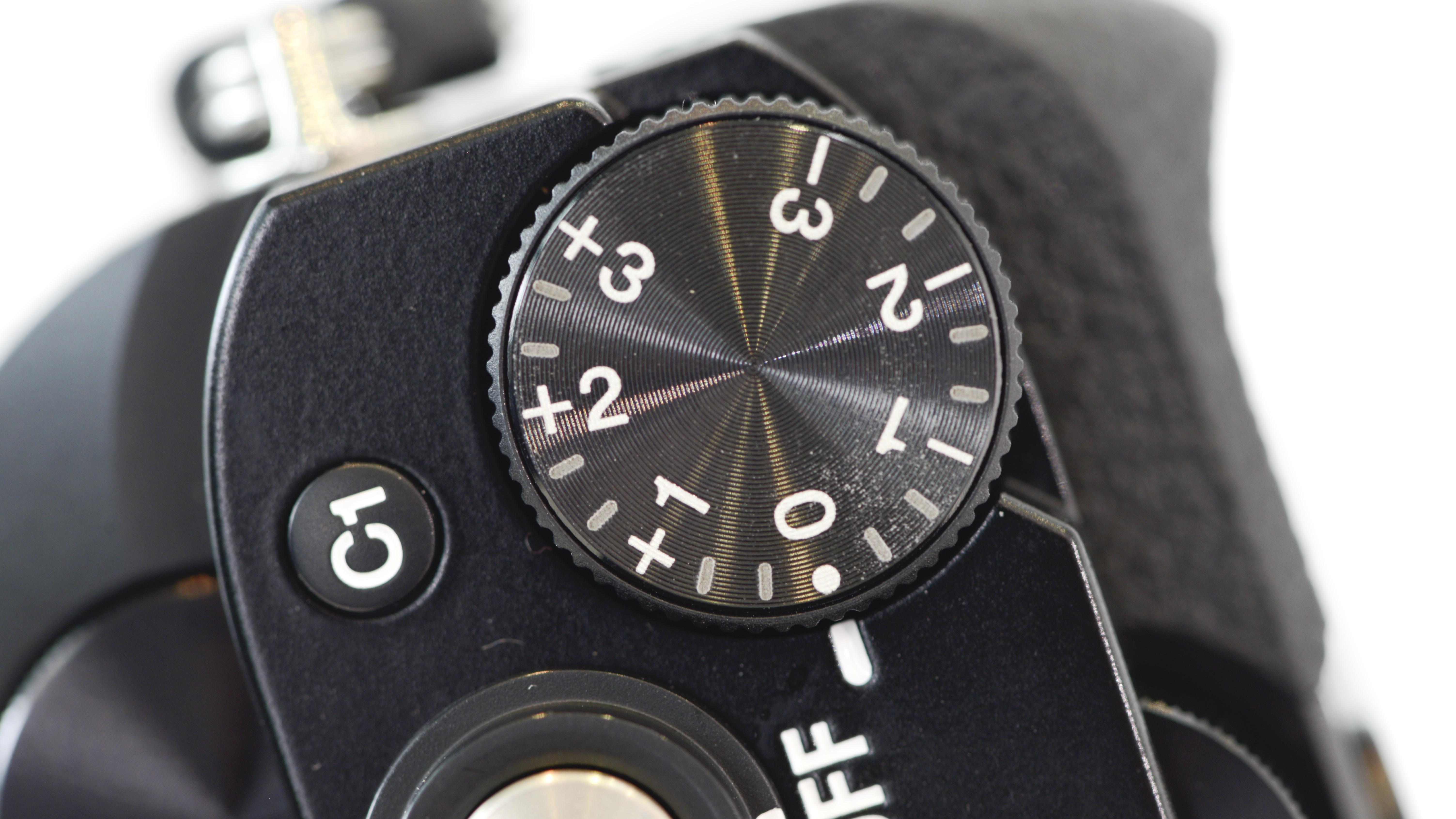 Exposure dial