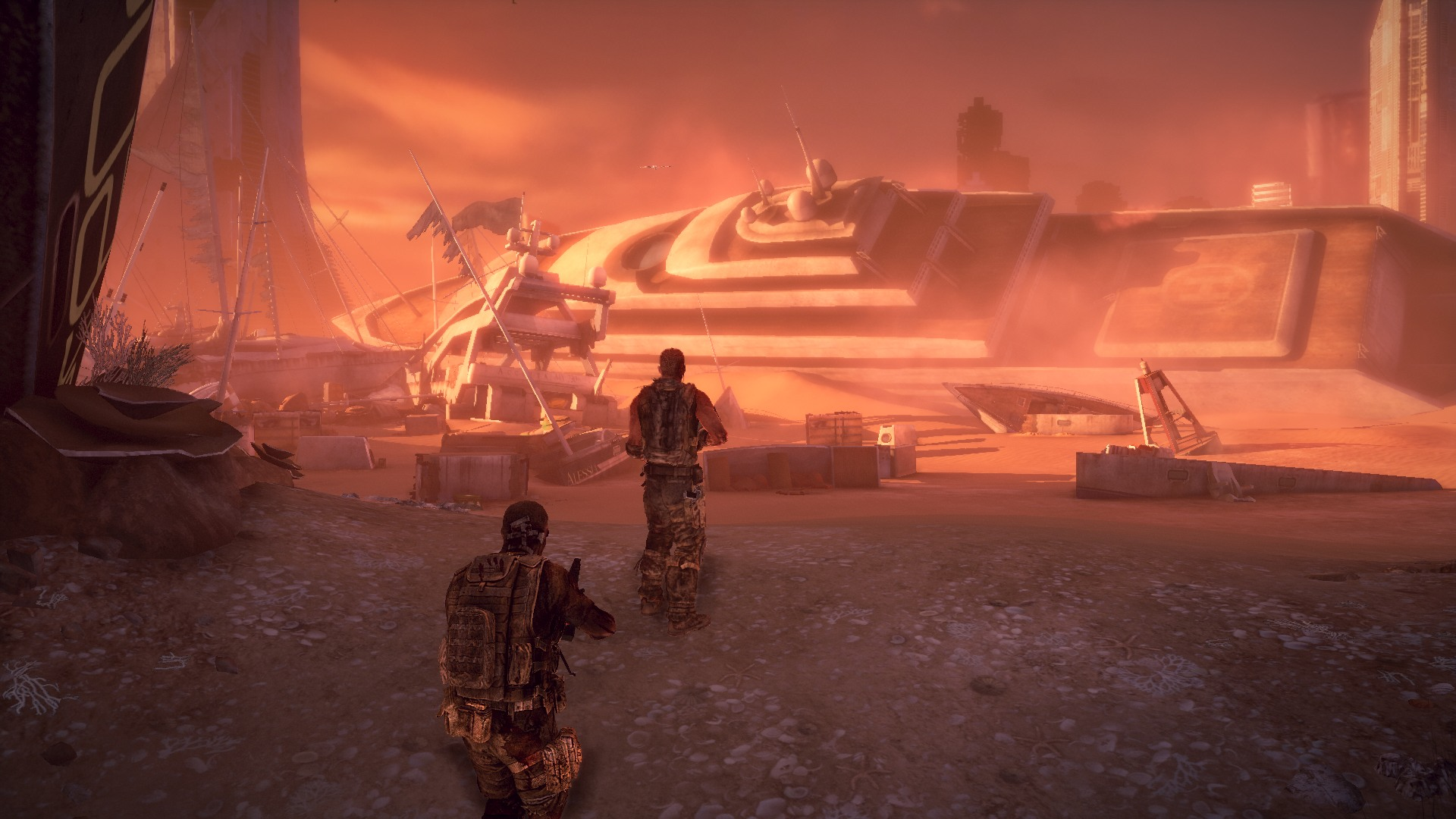 Spec Ops The Line Gets Free Co Op Dlc Pc Gamer
