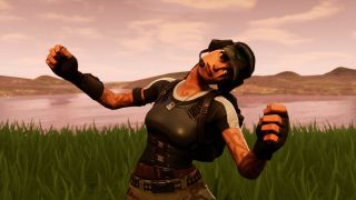 Fortnite's Ramirez has a crick in her neck.