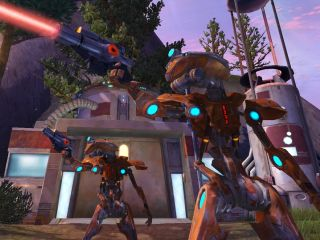 Star Wars: The Old Republic MMO launches