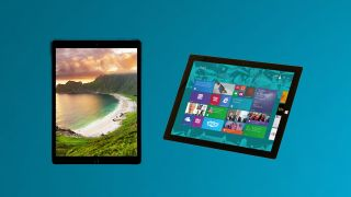 iPad Pro versus Surface