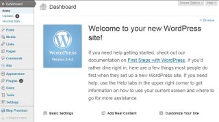 How to use WordPress to create a business website