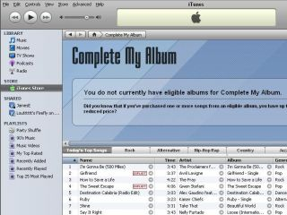 iTunes Complete My Album is helping boost music sales