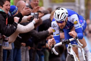 Tom Boonen races for one last time near his home in Zilvermeer, Belgium, in April 2017, having ridden his last professional race at that year's Paris-Roubaix. The Belgian appears to have given up on any prospect of a comeback, despite admitting that he had seriously considered it