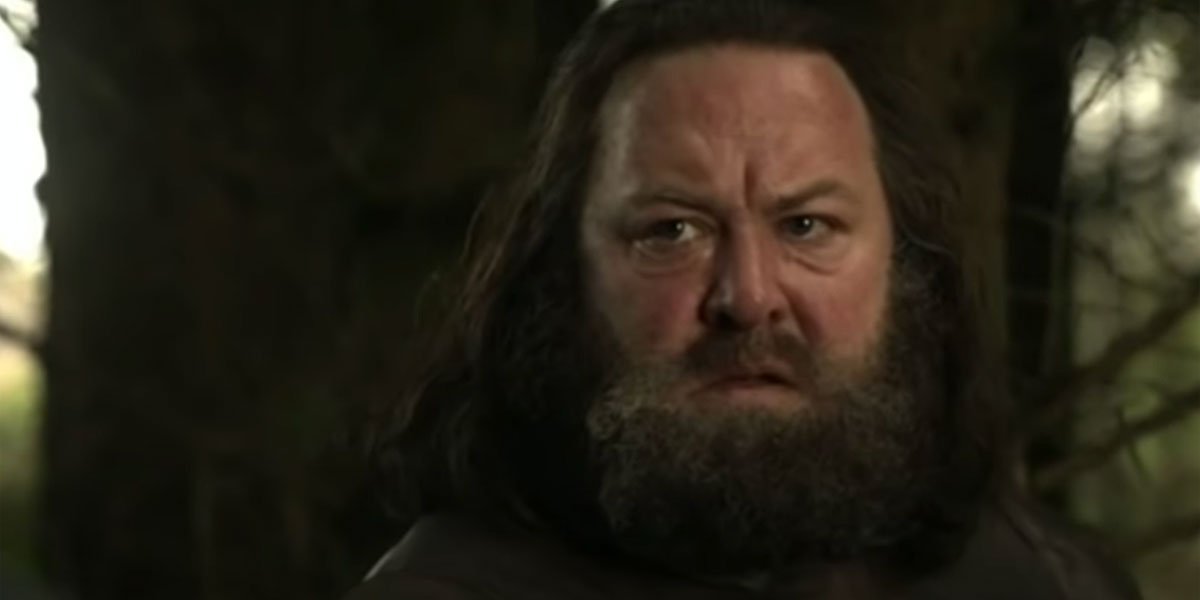King Robert Baratheon on his final boar hunt Game of Thrones