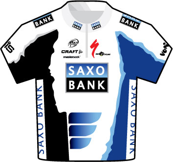 Saxo Bank Tour de France 2009 team jersey