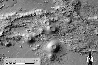 Valles Marineris Volcanoes