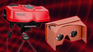 Google Cardboard attempts to redeem the Nintendo Virtual Boy