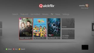 Quickflix arrives on the Xbox