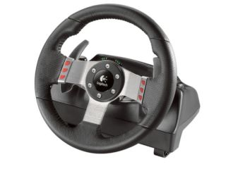 Logitech G27 wheel - car not included