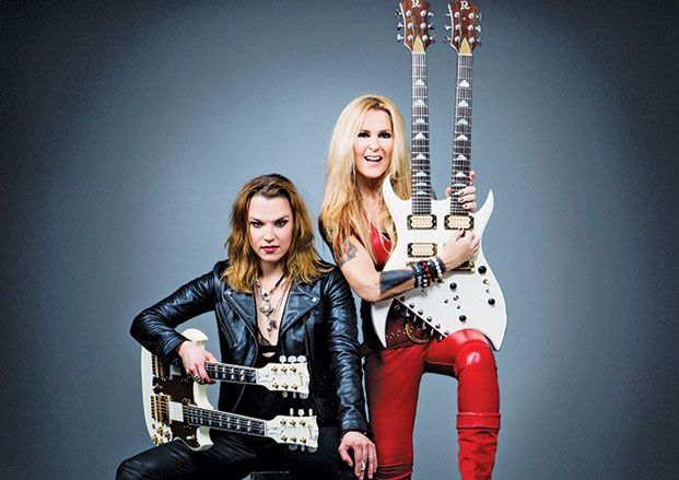 Lzzy Hale And Lita Ford On Touring Together Gear And