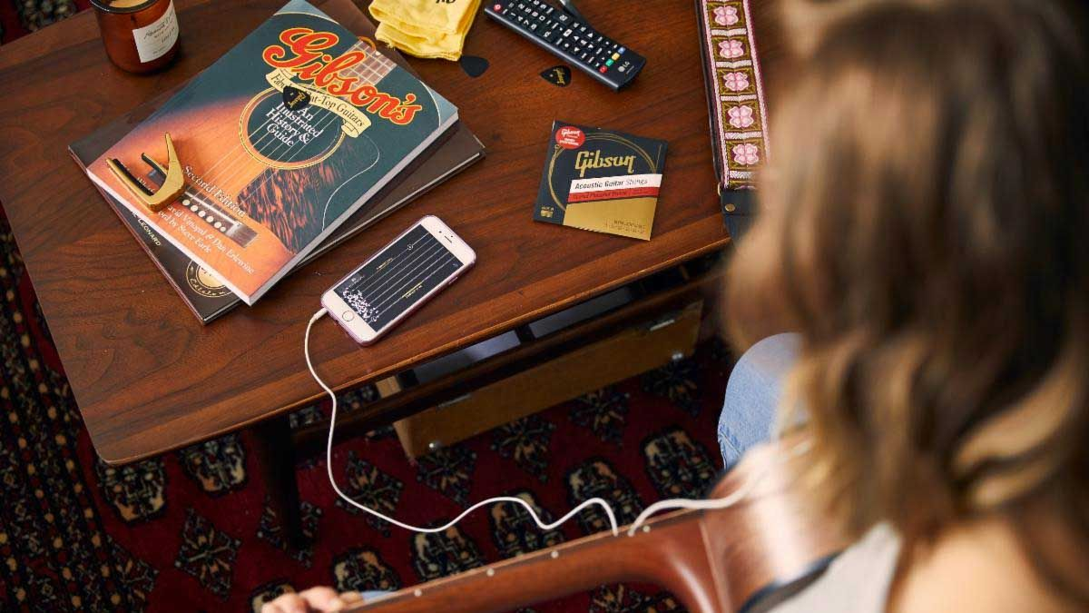 Gibson launches the Gibson App, a one-stop-shop for guitarists complete with lessons, tuning, tech advice and more
