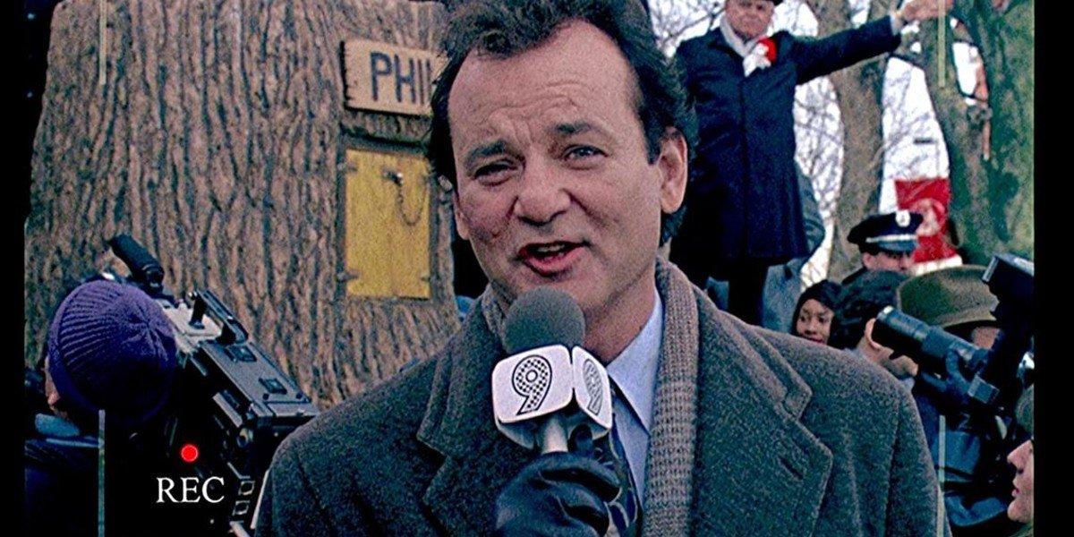 Bill Murray in Groundhog Day