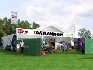 V Festival's The Mansion