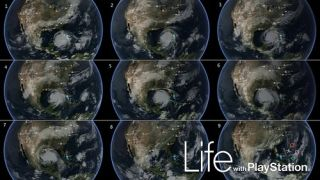 Life with PlayStation - a bit like a poor man's Google Earth, with some other bits tagged on