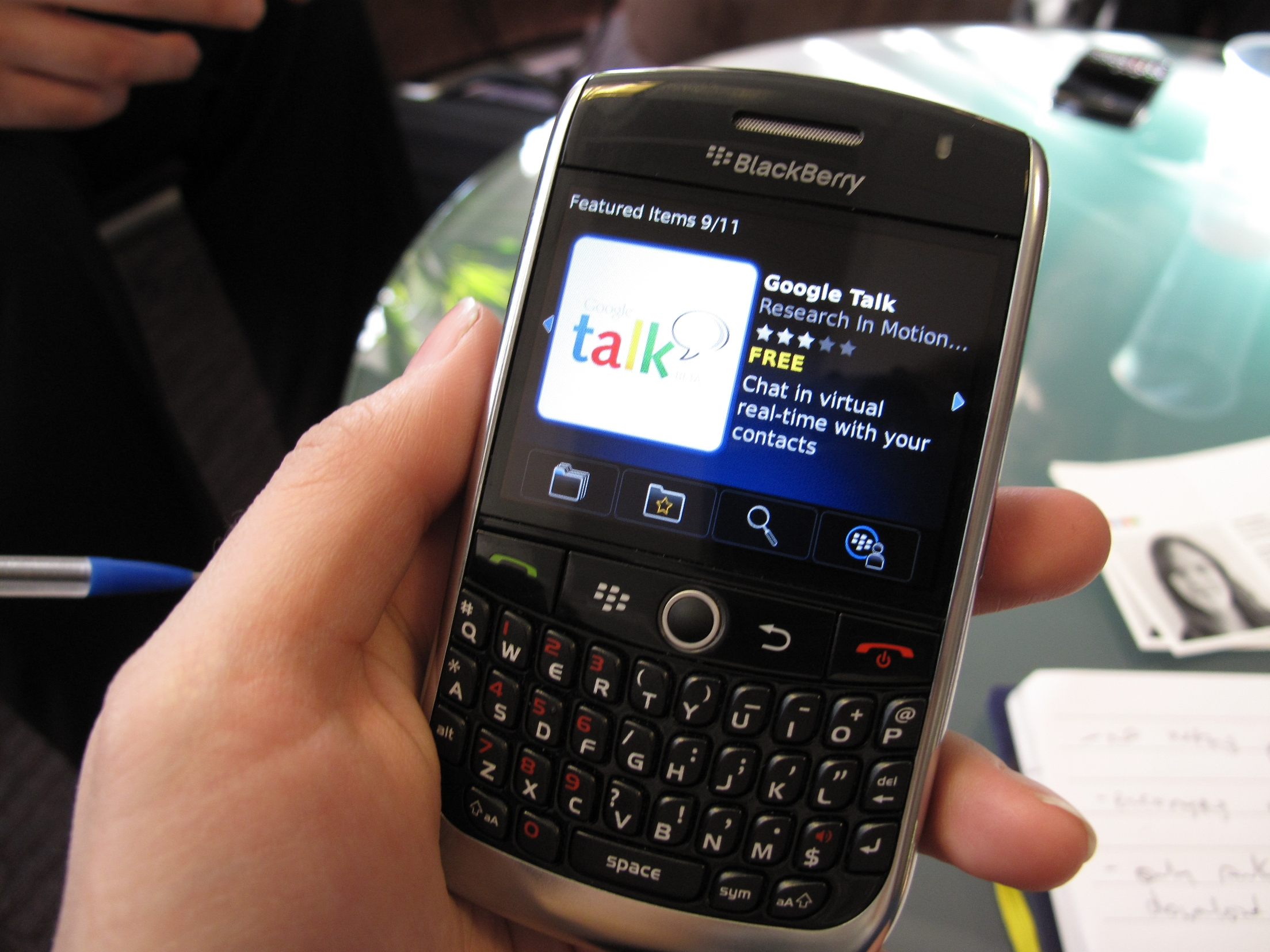 Hands on: BlackBerry App World | TechRadar