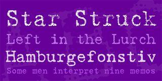 20 free typewriter fonts