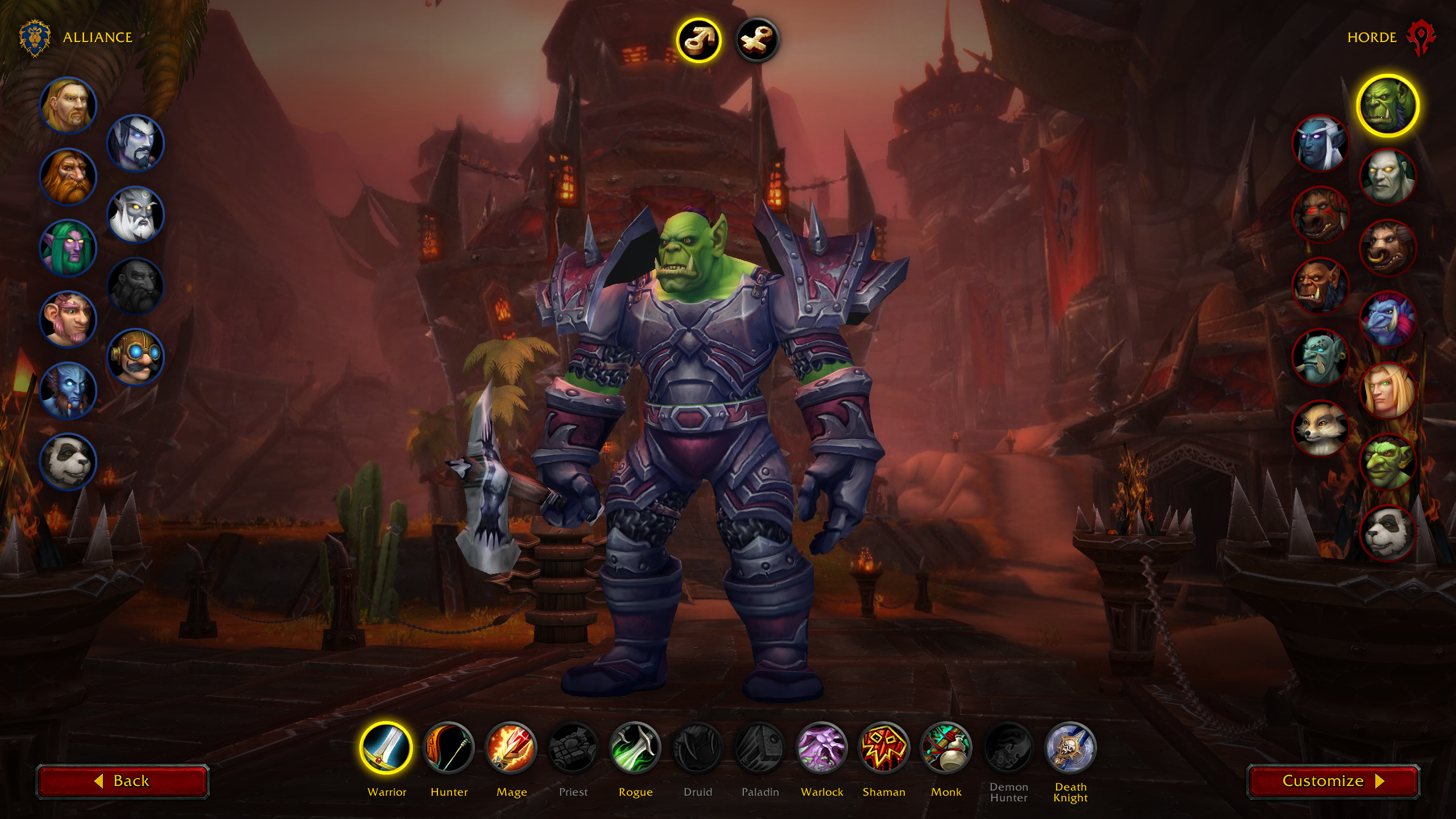 World Of Warcraft Is Changing Its Character Creation Screen For
