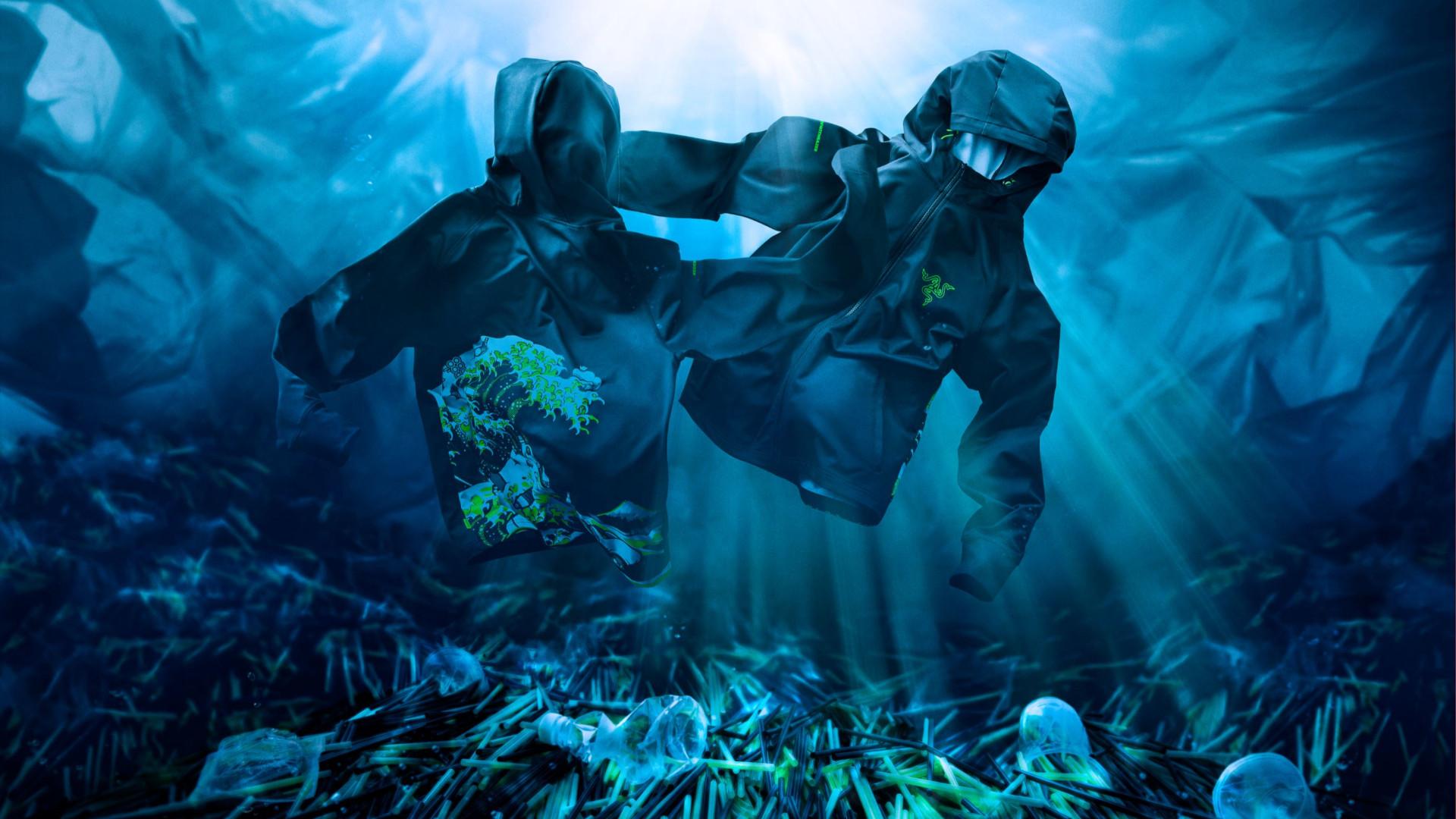 Razer Kanagawa Wave clothing under water