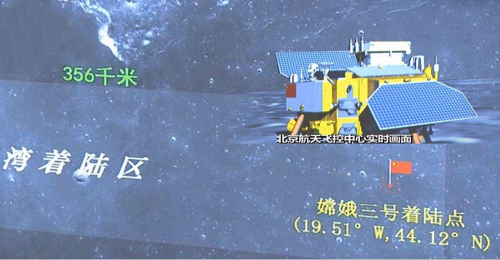 china lands on the moon historic robotic lunar landing - 970×505